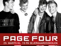 Page Four giver koncert